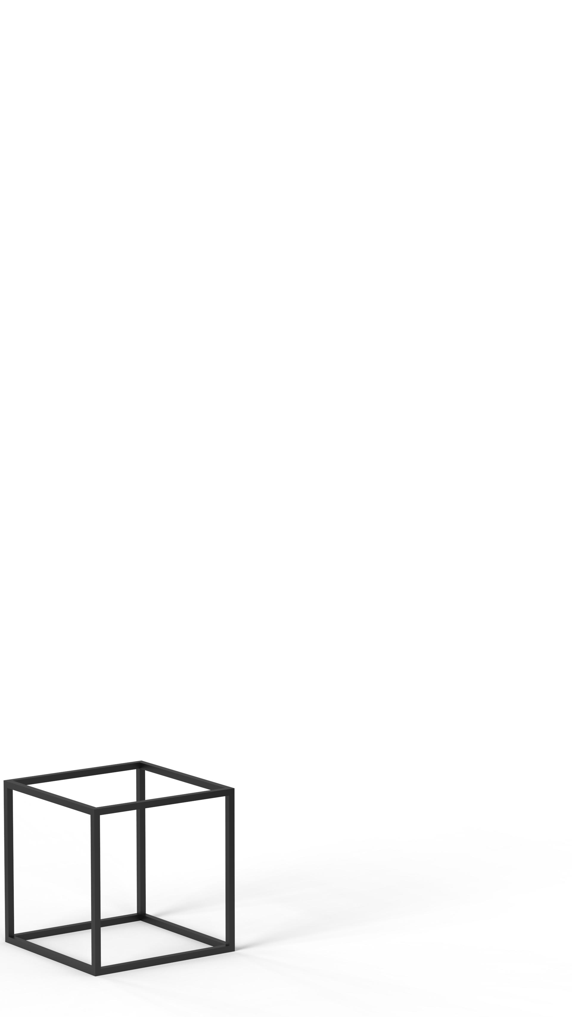 INITCAG20X20 Présentoir polyvalent cage SAINT-HONORÉ PARIS