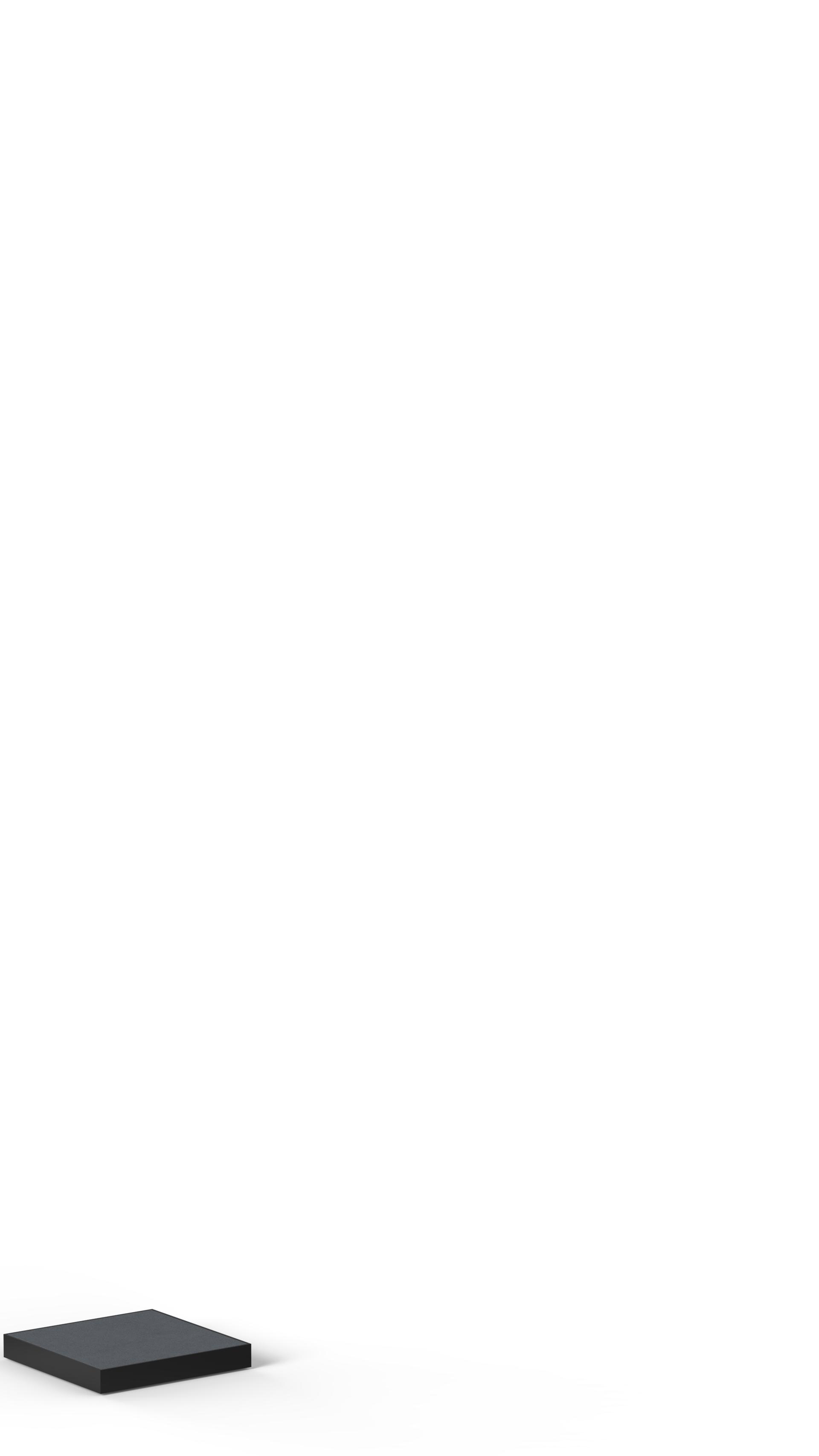 INITPLPG15x15x2x2 Présentoir plateau de présentation SAINT-HONORÉ PARIS